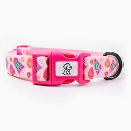 Ripley & Rue Ripley & Rue - Pink StarBARKS Comfort Dog Collar  Medium