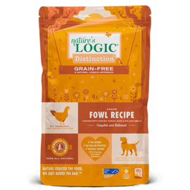 Nature's Logic Nature's Logic - Distinction Grain Free Fowl 24#