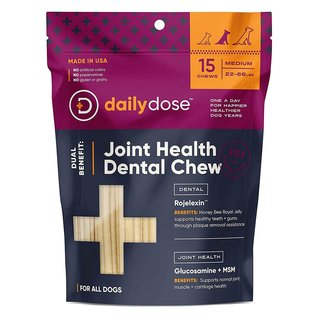 Daily Dose Daily Dose - Dental Hip & Joint Medium 15ct