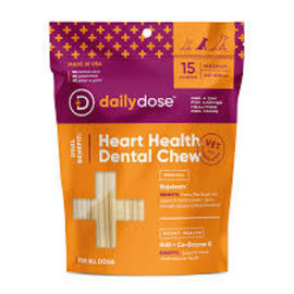 Daily Dose Daily Dose - Dental Heart Health Medium 15ct