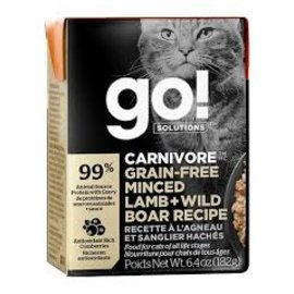 Petcurean Petcurean - Go! Minced Lamb & Wild Boar Cat 6.4oz