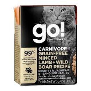 Petcurean Petcurean - Go! Carnivore Minced Lamb & Wild Boar Cat 6.4oz