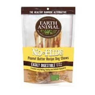 """Earth Animal No Hide - Peanut Butter 4"""" 2 pack"""