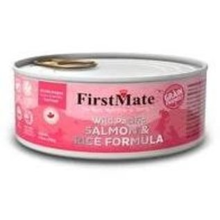 First Mate First Mate - Grain Friendly Salmon w/Rice 5.5oz/case