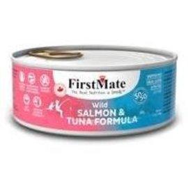 First Mate First Mate -  50/50 Salmon Tuna Cat  5.5z