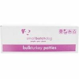 Small Batch Small Batch  - Turkey Patties Bulk Box 18#