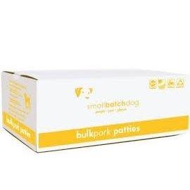 Small Batch Small Batch - Pork Patties Bulk Box 18#