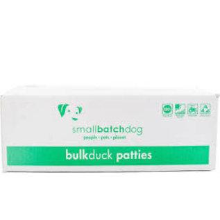 Small Batch Small Batch - Duck Patties Bulk Box 18#