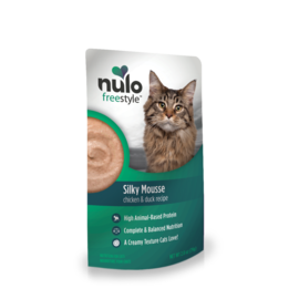 Nulo Nulo - Chicken & Duck  Silky Mousse Cat Pouches 2.8oz