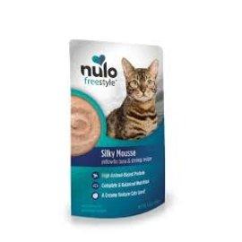 Nulo Nulo - Tuna & Shrimp  Silky Mousse Cat Pouches 2.8oz