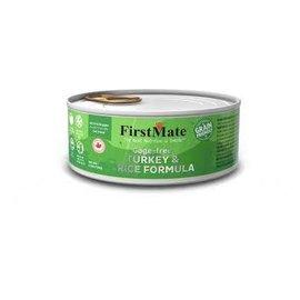 First Mate First Mate - Turkey & Rice  5.5oz cat