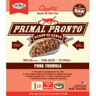 Primal Primal - Pronto Feline Pork 1#