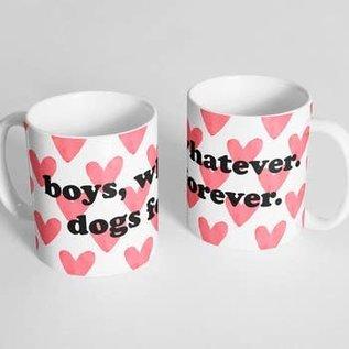 The Dapper Paw Dapper Paw - Boys, whatever 11oz mug