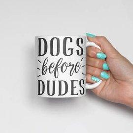 The Dapper Paw Dapper Paw - Dogs Before Dudes 11oz mug