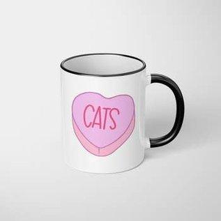 The Dapper Paw Dapper Paw - Cats 11oz mug