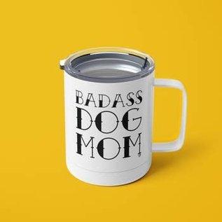 The Dapper Paw Dapper Paw - Badass Dog Mom 12oz Tumbler