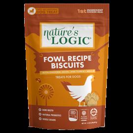 Nature's Logic Nature's Logic - Fowl Recipe Biscuits 14oz