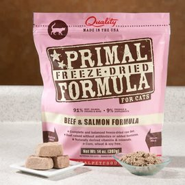 Primal Primal - Freeze Dried Feline Beef Salmon 14oz