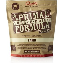 Primal Primal - Freeze Dried K9 Lamb 14oz