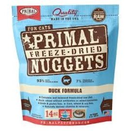 Primal Primal - Freeze Dried Feline Duck 14oz