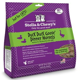 Stella and Chewy's Stella - Morsels Freeze Dried Duck Cat 18oz