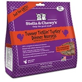 Stella and Chewy's Stella - Morsels Freeze Dried Turkey Cat 18oz