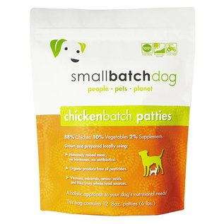 Small Batch Small Batch - Chicken Patties Bulk Box 18#