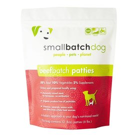 Small Batch Small Batch  - Beef Patties Bulk Box 18#