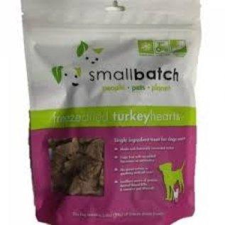 Small Batch Small Batch - Freeze Dried Turkey Hearts 3.5oz