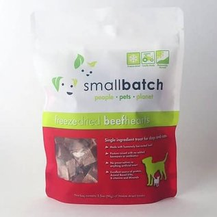 Small Batch Small Batch - Freeze Dried Beef hearts 3.5oz