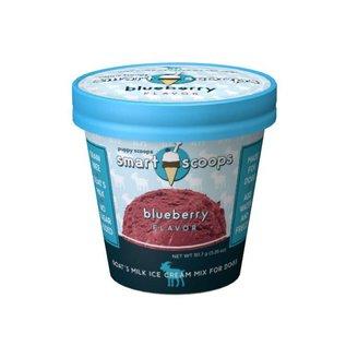 Puppy Cake - Blueberry Goat's Milk Ice Cream
