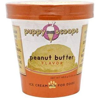 Puppy Cake - Peanut Butter Ice Cream