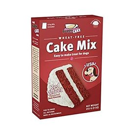 Puppy Cake - Red Velvet Cake Mix