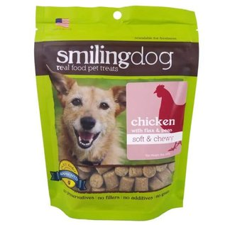 Herbsmith Smiling Dog Freeze Dried Chicken & Apples