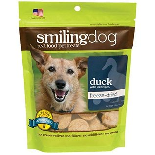 Herbsmith Smiling Dog - Freeze Dried Duck & Oranges