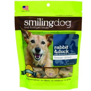 Herbsmith Smiling Dog Freeze Dried Rabbit & Duck