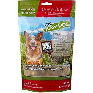 OC RAW OC Raw - Freeze Dried Beef Rox 5.5oz