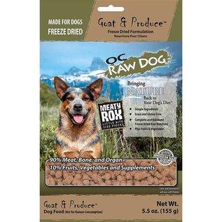 OC RAW OC Raw - Freeze Dried Goat Rox 5.5oz