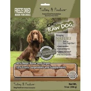 OC RAW OC Raw - Freeze Dried Turkey 14oz