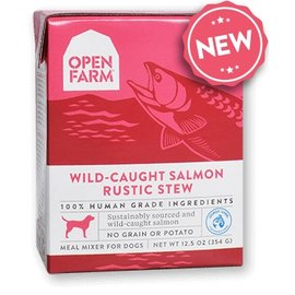 Open Farm Pet Open Farm - Salmon Stew Dog 12oz/case