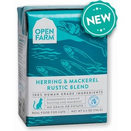 Open Farm Pet Open Farm - Herring & Mackerel Blend Cat 5.5oz/case