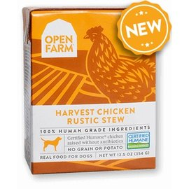 Open Farm Pet Open Farm - Chicken Stew Dog 12oz/case