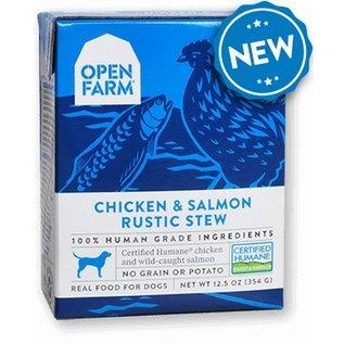 Open Farm Pet Open Farm - Chicken & Salmon Stew Dog 12oz