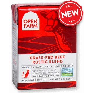 Open Farm Pet Open Farm - Beef Blend Cat 5.5oz/case