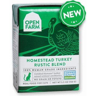 Open Farm Pet Open Farm - Turkey Blend Cat 5.5oz/case