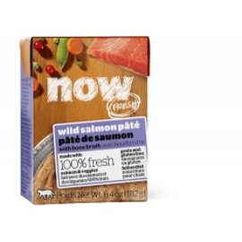 Petcurean Petcurean - Now! Fresh Wild Salmon Pate Cat 6.4 oz