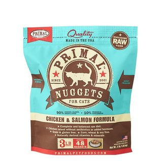 Primal Primal - Feline Chicken & Salmon Nuggets 3#