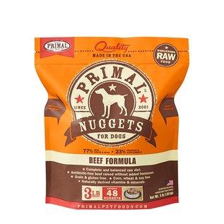 Primal Primal - K9 Beef Nuggets 3#