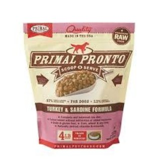 Primal Primal - Pronto K9 Turkey Sardine 4#