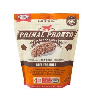 Primal Primal - Pronto K9 Beef 4#